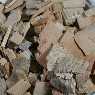 Wood Chips (acceptable)